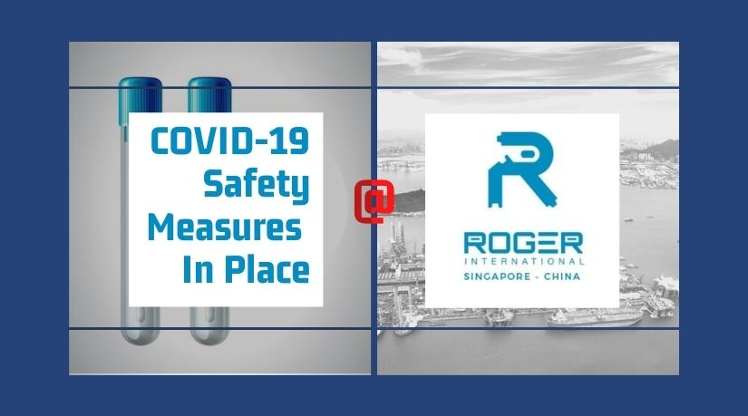 COVID-19 Safety Measures In Place @ Roger International