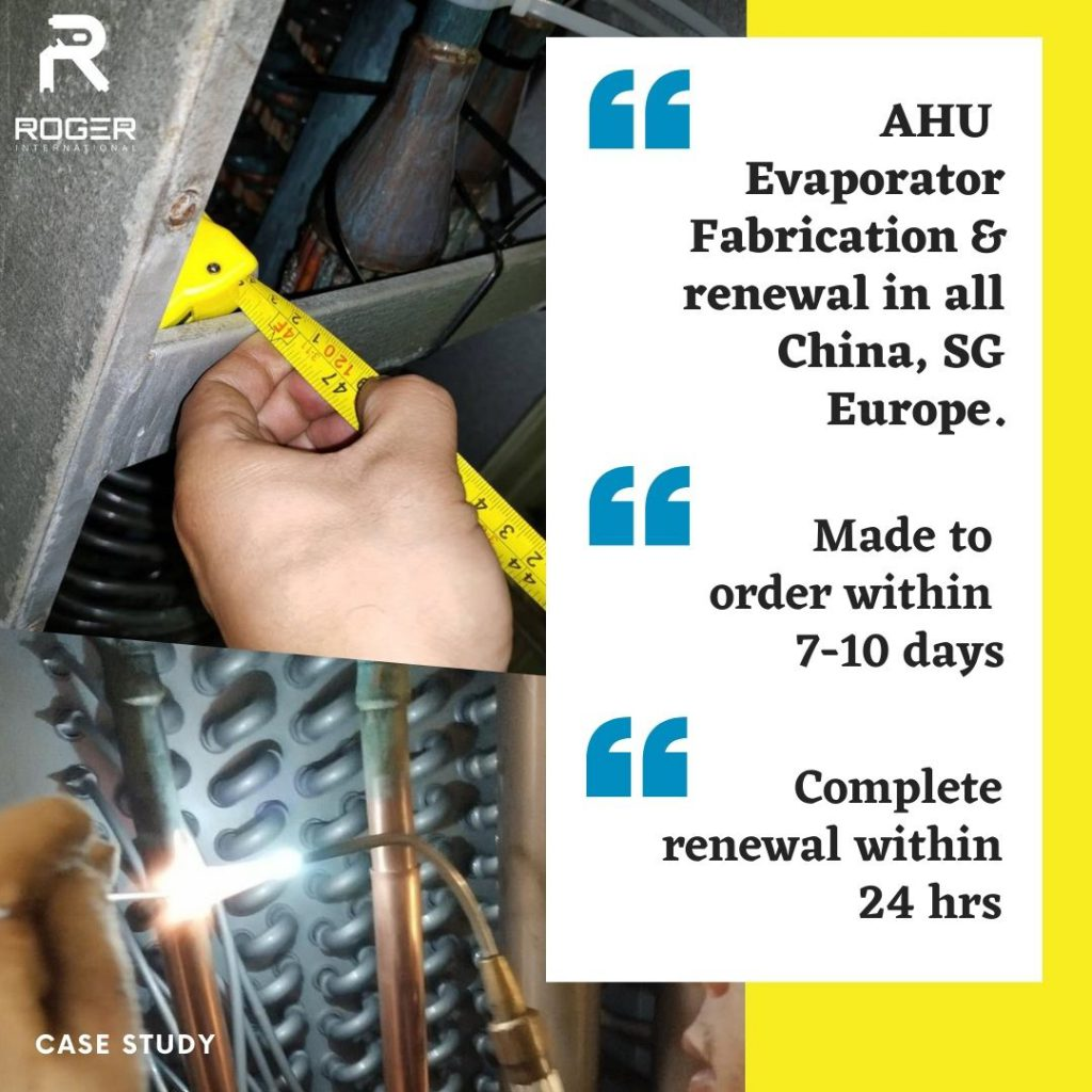 Case Study - Maersk Lirquen (Fabrication of Evaporator Coil & Installation in a short time frame of 24 hours