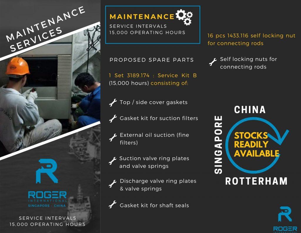 Sabroe-Maintenance Kit-15000hrs